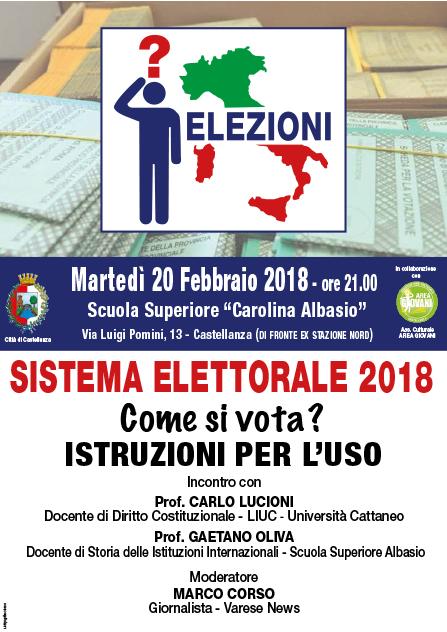 Sistema elettorale 2018
